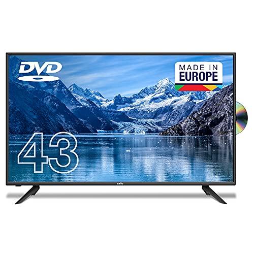 "Cello C4320FDE 43"" (109,3 cm Diagonale) Full HD LED TV mit integriertem DVD Player"