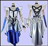 368 【cos-presure】ハートキャッチプリキュア キュアムーンライト風衣装☆彡コスプレ