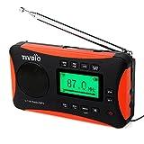 Tivdio Radio Portátil FM MW SW Receptor Mundial...