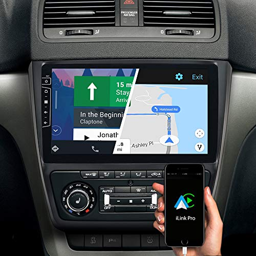 DYNAVIN Autoradio Navi für Skoda Yeti 2009-2017, 10,1 Zoll OEM Radio mit Bluetooth, inkl. DAB+, USB, Kompatibel mit Carplay und Android Auto: DX-SK-151 Flex