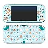 Controller Gear 任天堂オフィシャルライセンス品 あつまれどうぶつの森 - どうぶついっぱいパターン - Nintendo Switch Lite Skin - Nintendo Switch/スキンシール 着せ替え