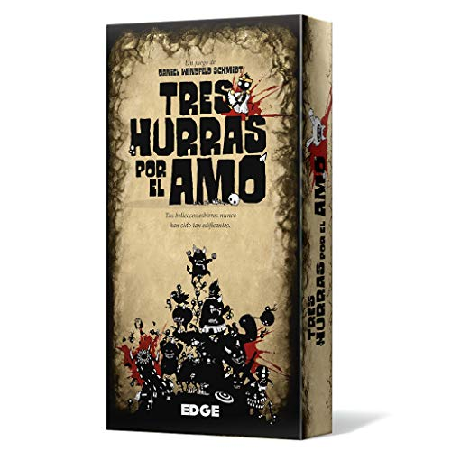 Tres Hurras por el Amo - Juego de cartas (Edge Entertainment EEAGTC01) , color/modelo surtido