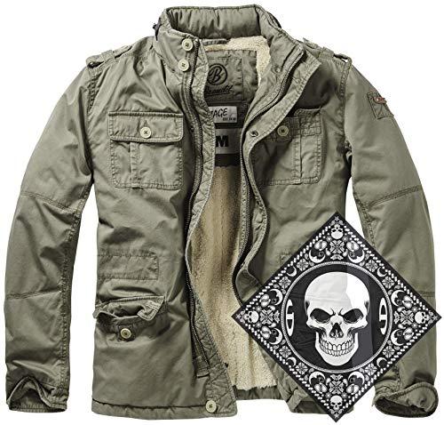 Urbandreamz Britannia Winter Jacket Olive Gr. XXL