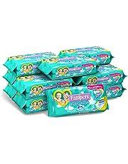 Pampers Baby Fresh Salviettine, Formula Idratante e Delicata che Ripristina il PH della Pelle,12 Confezioni da 50 Pezzi, 600 Salviettine