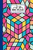 Bicycle Log Journal: Cycling Logbook Cube Cover, Bike Riding, Bicycle Lovers, Log Book to keep track of daily Biking Training | 120 Pages, Size 6' x 9' | by Nina Reinhardt