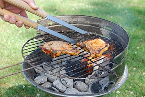 Esschert Gt37 BBQ Tools Wood/ Metal - Multi-color