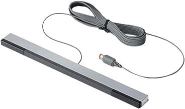 ZYCX123 Receptor de Infrarrojos IR Cable del Sensor de Movimiento del Rayo infrarrojo Sensor Bar de Accesorios Profesionales con Puerto USB Compatible con Nintendo Wii y Wii U Consola