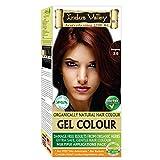 Indus Valley Coloration Gel Naturelle et Sans Dommages pour vos cheveux, Bourgogne 3.6