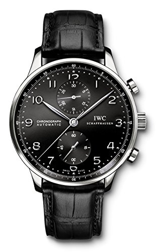 IWC Men's Swiss Quartz Watch Black