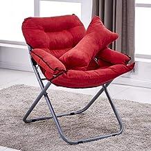 Chairs Creative Lazy Folding Sofa Living Room Single Sofa Chair Tatami Lounge Chair with Pillow