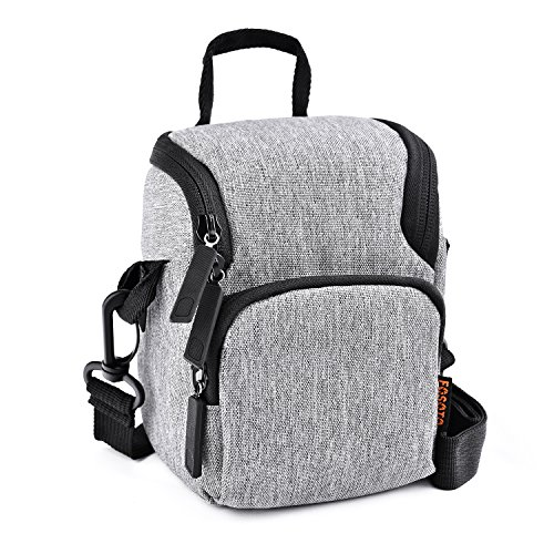 FOSOTO Camera Case Bag Compatible for Nikon L340 L330 B500 L840,Canon SX420 SX720 SX620 G7X, Sony A6000 A6300 a5100 NEX-6 W830 RX100 RX0M2,Panasonic GX85 ZS60 Long Zoom or Compact Syste
