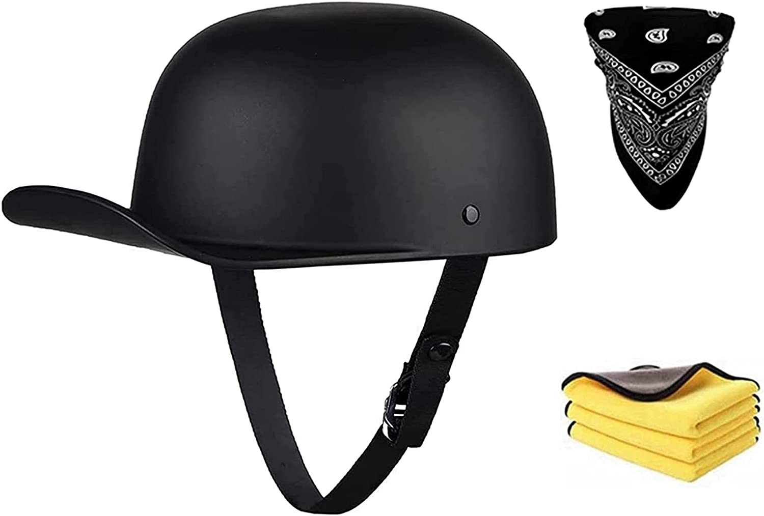 Challenge the Gorgeous lowest price Retro Open Face Half Motorcycle Helmet She