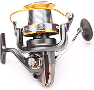 MGRH Carrete de Spinning 8000/7000 para Pesca de Surf, 12 + 1 BBS, Ultra High Capacity, Heavy Duty Long Casting Offshore Big Game Fishing Reel-LJ8000