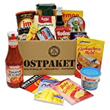 OLShop AG Ostpaket Ostalgische Mahlzeit mit 16 typischen Produkten der DDR, Spezialitäten Spezialitätenpaket Geschenkset Ostprodukte Geschenkidee DDR-Paket