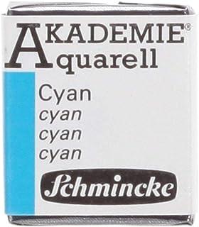 Schmincke AKADEMIE Aquarell Cyan Aquarell 16 448 044 1/2 Naepfchen