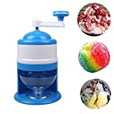 shoppingba Stainless Steel Manual Ice Cones Hand Shaved Crushed Machine