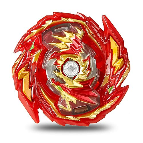 2 Stück Kampfkreisel Burst, Battling Tops Bey Kreisel Burst 4D Fusion Modell Metall Masters Beschleunigungslauncher,Kinder Spielzeug,