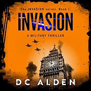 Invasion: A Military Thriller audiobook cover art