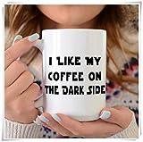 N\A Divertente Darth Vader, Tazza di Star Wars, Regalo di Star Wars, Tazza di Yoda, Fan di Star Wars, Luke Skywalker, Ewok, Skywalker, Tazza di caffè in Ceramica/Tazza/Bicchieri, Lucida