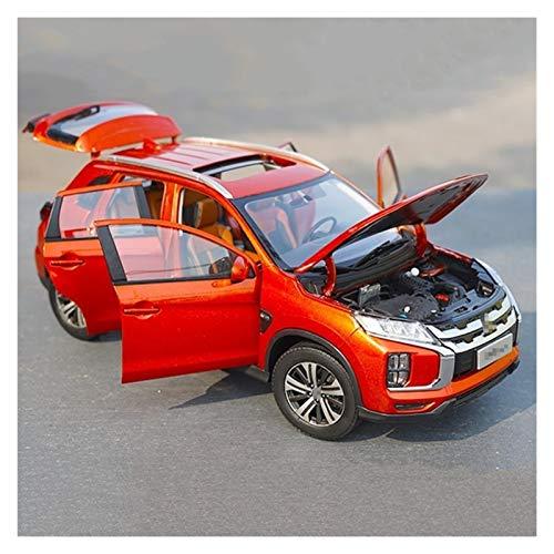 SLSM 1/18 Aleación Modelo De Coche Fundido A Presión Colección para Niños Adultos Vehículo De Simulación Decoración De Juguete Regalos para ASX Vehículo Diecast (Color : Rojo)