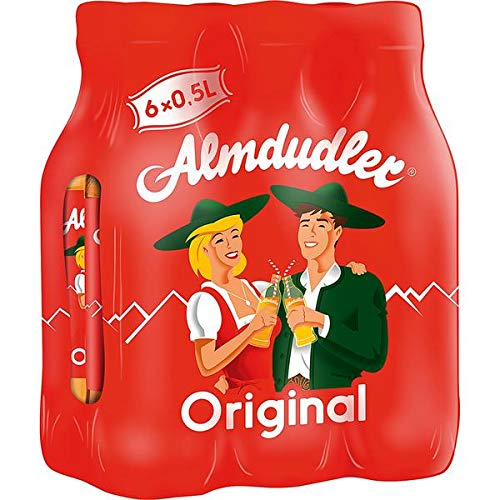 Almdudler Original Alpenkräuterlimonade, 6er Pack (6 x 500 ml)
