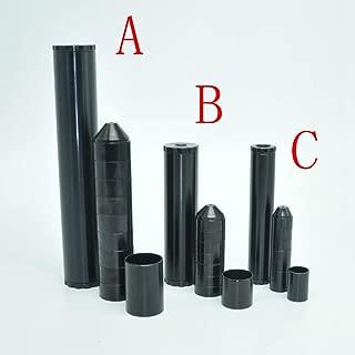 Aluminum Black Fuel Filter 1/2 28