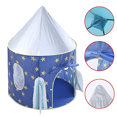 Kids Castle Play Tent, Portable Foldable Summer Princess Castle Tent, Castle Tent Toy, for Indoor Outdoor and Beach