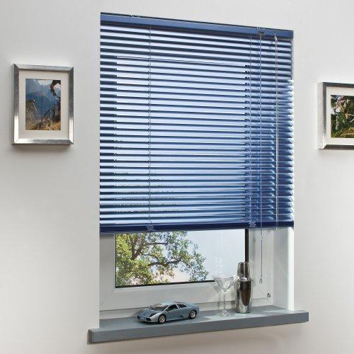 Liedeco | Aluminium-Jalousie | Sky blau | B80cm x H130cm