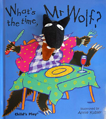 What's the Time, Mr. Wolf? (Finger Puppet Books)