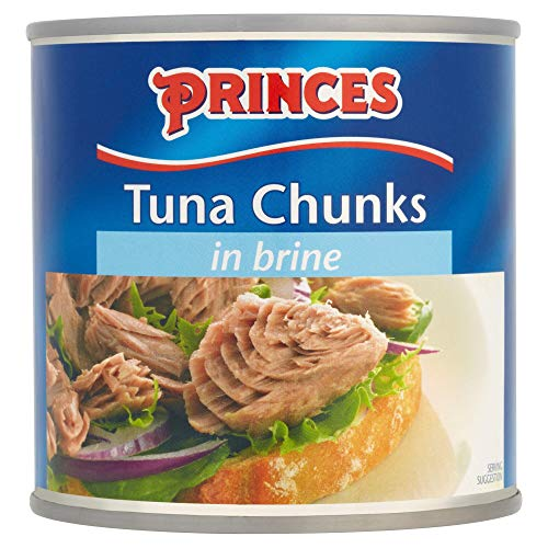 Princes Tuna Chunks in Brine - 6x400g