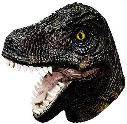 HENGYUTOYMASK Tyrannosaurus dinosaurus latex hoofdmasker dierenmasker T Rex Halloween kostuum