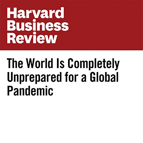 The World Is Completely Unprepared for a Global Pandemic copertina