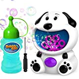 WisToyz Bubble Machine Dog Bubble Blower 500+ Bubbles Per Minute,...