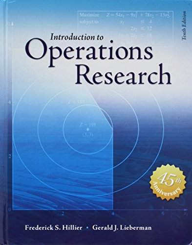 Compare Textbook Prices for Introduction to Operations Research Revised ed. Edition ISBN 9780073523453 by Hillier, Frederick S