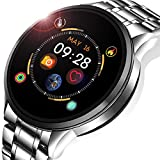 LIGE Smart Watch Fitness Tracker with Blood Pressure Heart Rate Monitor Sleep Monitor Waterproof IP67 Activity Tacker Pedometer Stopwatch Smartwatches for Men for iOS Android Phone