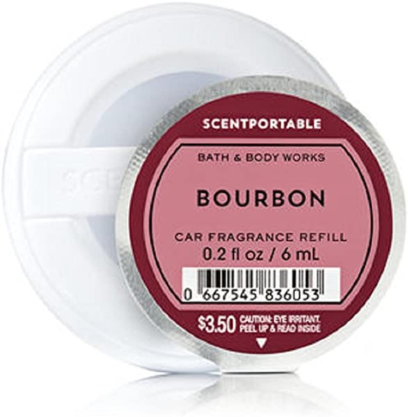 Bath Body Works Scentportable Fragrance Refill Disc Bourbon