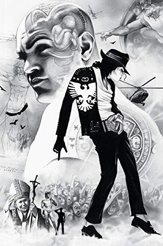 Michael Jackson notebook - achieve your goals, perfect 120 lined pages #2 (Michael Jackson Notebooks)