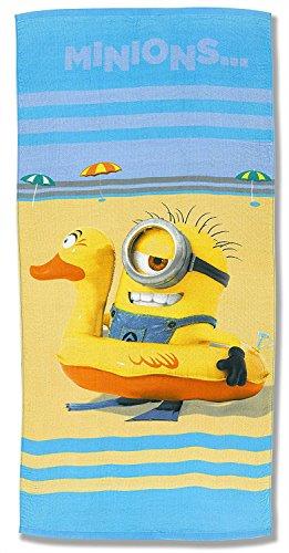 MINIONS - On The Beach Strandtuch (Baumwolle)