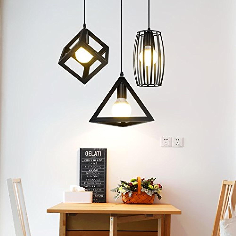 Nordic modernen schmiedeeisernen Kronleuchter Restaurant Studie Gang kreative Persnlichkeit Lampen, ABC drei lange Chassis, führte warmes Licht