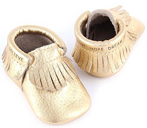 First Steps Moccasins for Babies. Soft