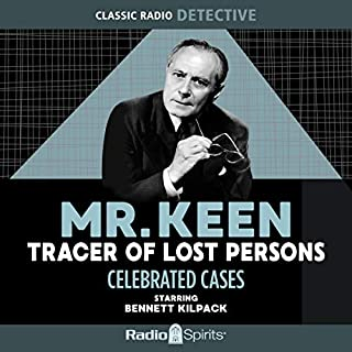 Mr. Keen, Tracer of Lost Persons: Celebrated Cases audiobook cover art