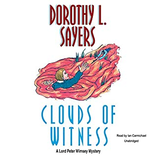 Clouds of Witness audiobook cover art