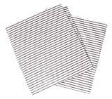 Clay Roberts Grease Cooker Hood Filters, Pack of 2, Cut to Size, Vent Filters for All Cooker Hoods