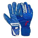Reusch Attrakt Freegel Fusion Ortho Tec Goaliator Goalkeeper Gloves, Size 12, Blue/White