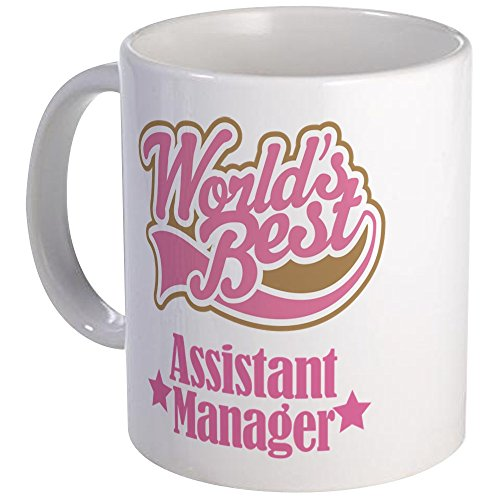 CafePress Assistant Manager Gift Mug Unique Coffee Mug, Coffee Cup