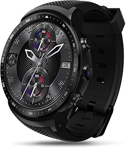 Reloj inteligente para hombre, 3G, GPS, WiFi, Android 5.1, MTK6580, Quad Core, 1 GB, 16 GB, 2,0 MP, monitor de frecuencia cardíaca, reloj inteligente