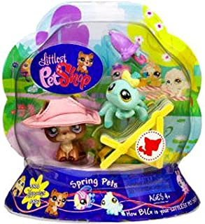Littlest Pet Shop Spring Pets Pet Pair (Spider and Shepherd)