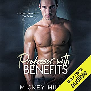 Professor with Benefits audiobook cover art