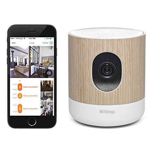 Withings Home HD WLAN Überwachungs-Kamera mit Luftqualitäts-Sensoren