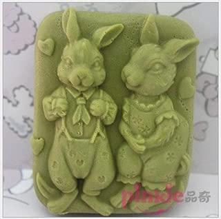 Pinkie Tm Kangaroo Shaped silicone Soap Mold,Resin Clay Chocolate Candy Silicone Cake Mould,Fondant Cake Decorating Tools
